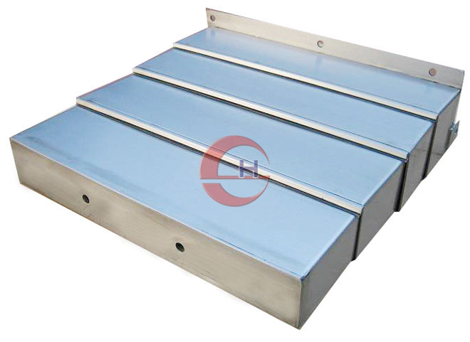 Steel way cover bellows telescopic guide shield